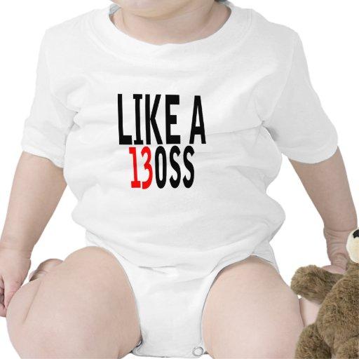 Corra como Boss T-shirt.png Traje De Bebé