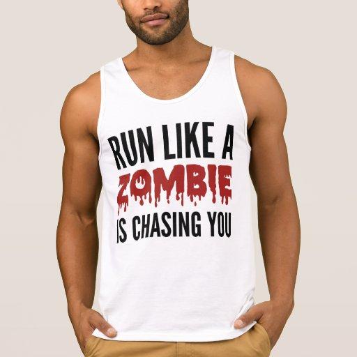 Corra como un zombi le está persiguiendo