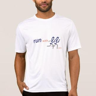 Corra con la camisa corriente de Gigi (para