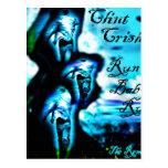 """Corra """"corrido bebé remezcla"""" por Clint Crisher Tarjeta Postal"""