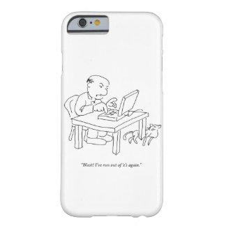 Corra 'del caso de Smartphone de la e Funda De iPhone 6 Barely There
