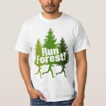 Corra el bosque, proteja el Día de la Tierra Remeras