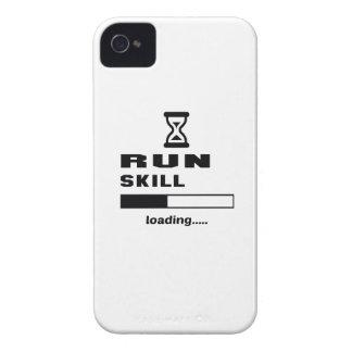 Corra el cargamento de la habilidad ...... iPhone 4 Case-Mate coberturas