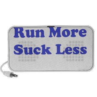 Corra más chupan menos azul notebook altavoces