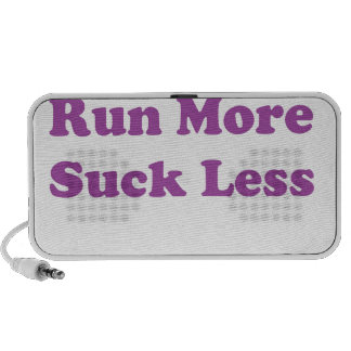 Corra más chupan menos púrpura altavoz