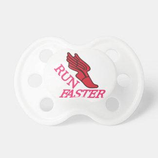 Corra más rápidamente chupetes para bebes