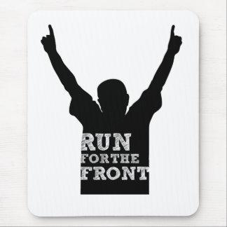 Corra para el frente: Fan Mouse Pad