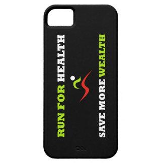 Corra para la salud (iPhone5) Funda Para iPhone 5 Barely There