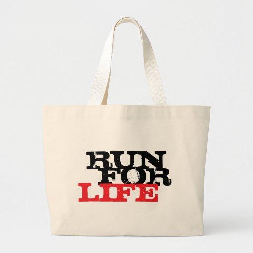 Corra para la vida bolsas