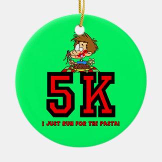 corra para las pastas 5K Ornamento Para Reyes Magos
