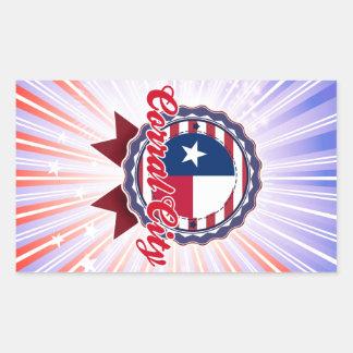 Corral City, TX Sticker
