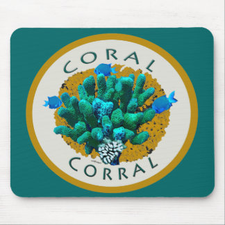 Corral coralino (arrecifes de coral) del amor de I Alfombrilla De Raton