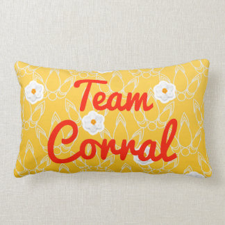 Corral del equipo almohada