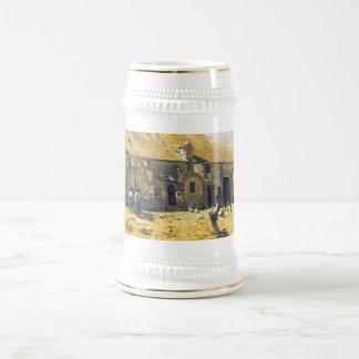 Corral en Chailly - Claude Monet Taza De Café