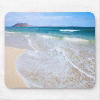 Corralejo Flag Beach Mouse Pad