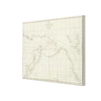 Corrales, América, Asia Impresión En Lona Estirada