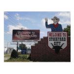 Corrales del Oklahoma City Tarjeta Postal