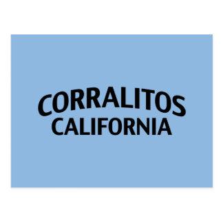 Corralitos California Tarjeta Postal
