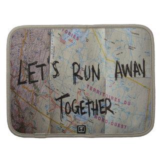 Corramos lejos junto planificador