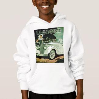 Corre-La Licorne - Vintage Advertisement Hoodie