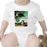Corre La Licorne ~ Vintage Automobile Ad Tshirts