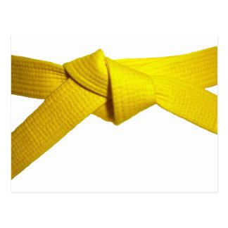 Correa amarilla postal