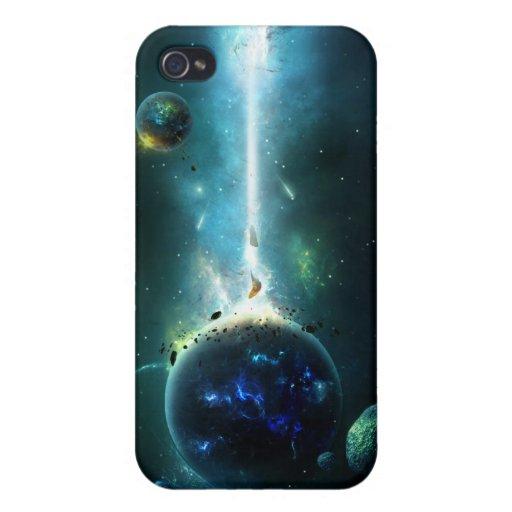 Correa asteroide iPhone 4 protectores