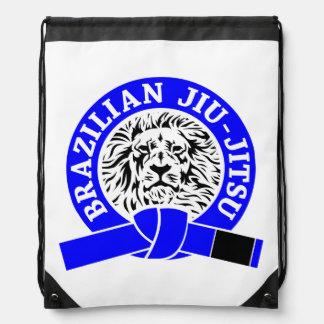 Correa azul de Jiu-Jitsu del brasilen@o (bolso del Mochila