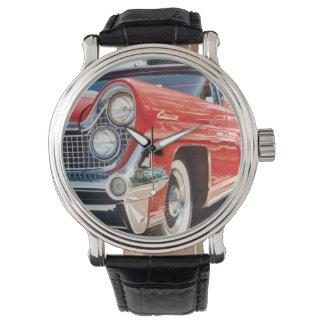 Correa de cuero 1959 del vintage continental de relojes