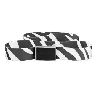 Correa de estampado de zebra de moda