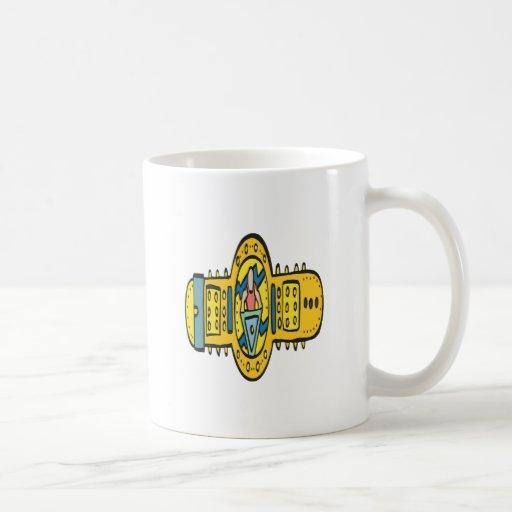 Correa de lucha del campeonato taza de café
