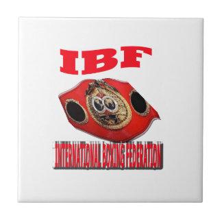 Correa del boxeo del campeonato de IBF Azulejo Cerámica