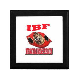 Correa del boxeo del campeonato de IBF Cajas De Recuerdo