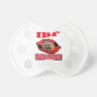 Correa del boxeo del campeonato de IBF Chupetes De Bebe