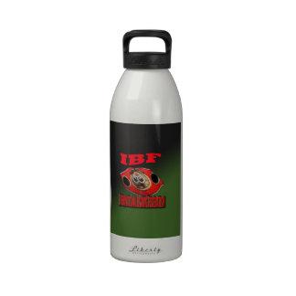 Correa del boxeo del campeonato de IBF con el fond Botella De Agua Reutilizable