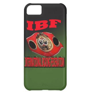 Correa del boxeo del campeonato de IBF con el fond Funda Para iPhone 5C