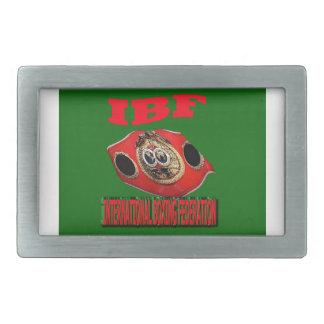 Correa del boxeo del campeonato de IBF con verde d Hebillas Cinturón