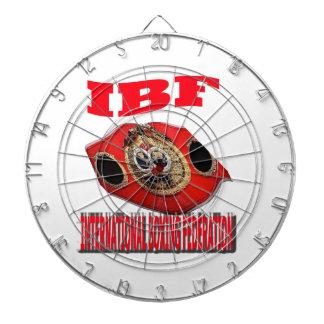 Correa del boxeo del campeonato de IBF Tabla Dardos