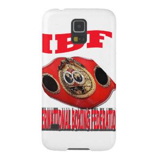 Correa del boxeo del campeonato de IBF Fundas De Galaxy S5