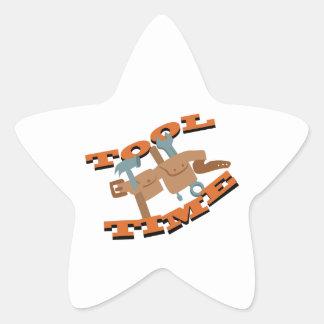 Correa del tiempo de la herramienta pegatina en forma de estrella