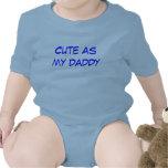 correa eslabonada del bebé de mi papá del bebé trajes de bebé