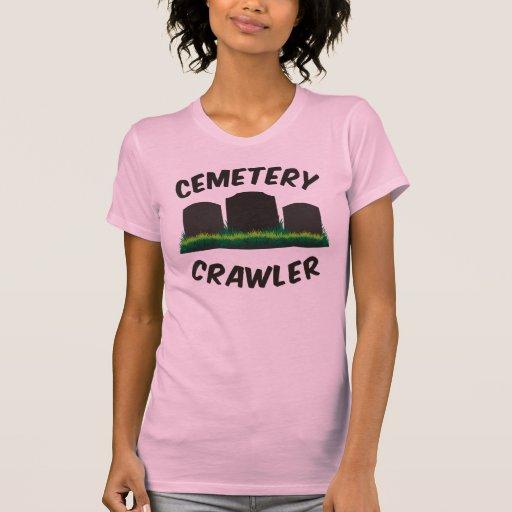 Correa eslabonada del cementerio camisetas