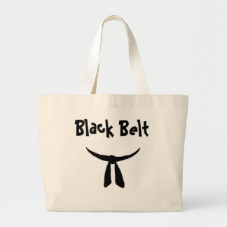 Correa negra bolsa tela grande