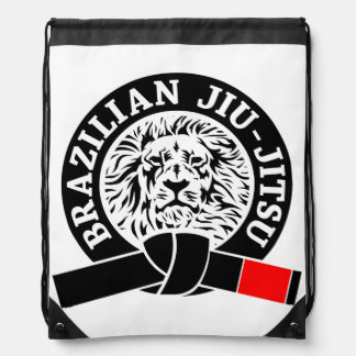 Correa negra de Jiu-Jitsu del brasilen@o (bolso de Mochilas