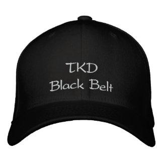 Correa negra de TKD Gorro Bordado