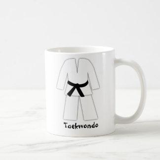 Correa negra del karate del Taekwondo Taza Clásica