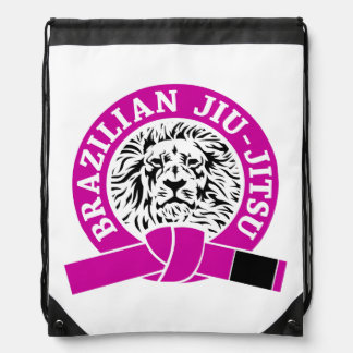 Correa púrpura de Jiu-Jitsu del brasilen@o (bolso Mochilas