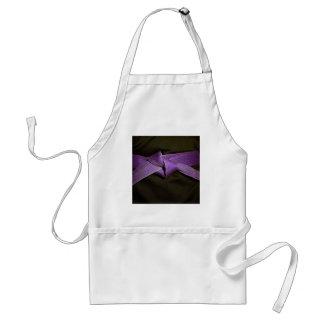 Correa púrpura delantal