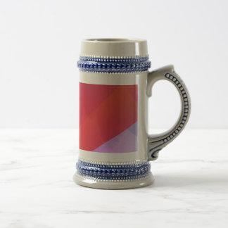 Correa roja tazas de café