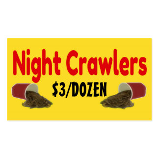 Correas eslabonadas de noche para el anuncio de la tarjetas de visita